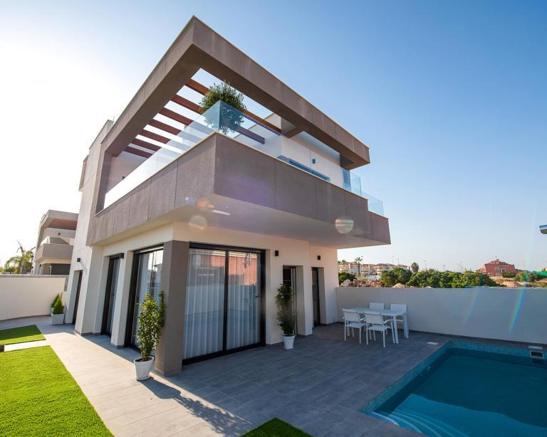 Nieuwbouw villas in Los Montesinos - Alicante - Costa Blanca in Nieuwbouw Costa Blanca