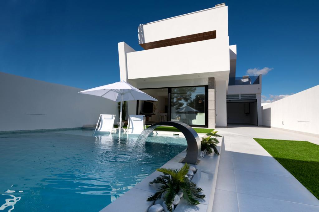 3 Slaapkamer 3 badkamer moderne villas met zwembad in Nieuwbouw Costa Blanca