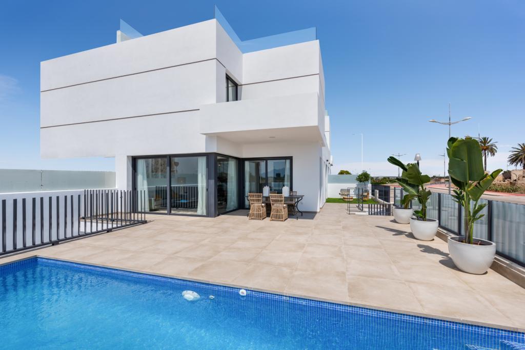 Prachtige nieuwbouw villa's met privé zwembad in Dolores in Nieuwbouw Costa Blanca