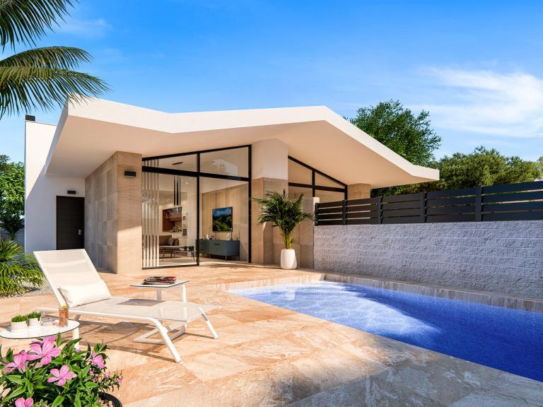 2 of 3 slaapkamer optie woning - Benijofar in Nieuwbouw Costa Blanca