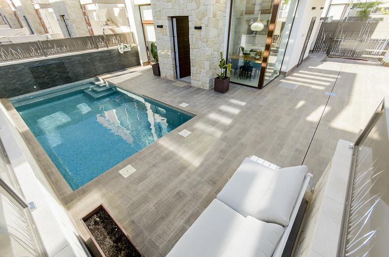 Zuidgelegen 3 slaapkamer 3 badkamer villa Ciudad Quesada Nieuwbouw Costa Blanca