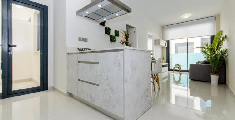 1 en 2 slaapkamer appartementen centrum Torrevieja NIEUW in Nieuwbouw Costa Blanca