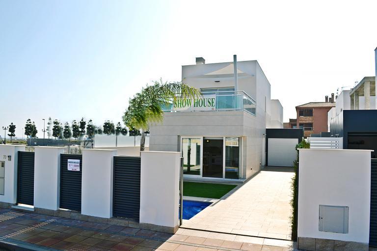 3/2 Moderne nieuwe villa's in Los Alcazares - Murcia in Nieuwbouw Costa Blanca
