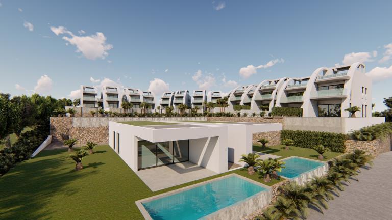 LUXE NIEUWE MODERNE APPARTEMENTEN IN ROJALES Nieuwbouw Costa Blanca