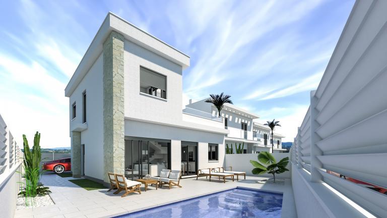 Mooi nieuw villa project in los montesinos met privé zwembad in Nieuwbouw Costa Blanca