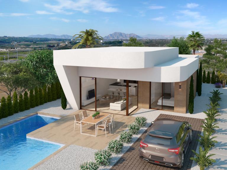 Design modern villas naar uw wens - Benijofar in Nieuwbouw Costa Blanca